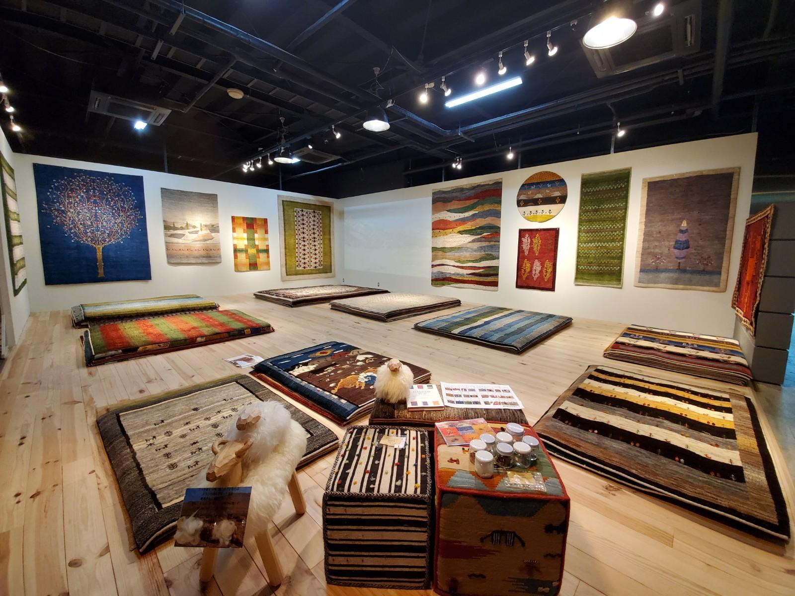 アートギャッベ展 水戸店 2020